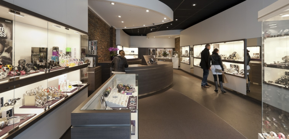 Interieur Juwelier de Haas | Hoofddorp