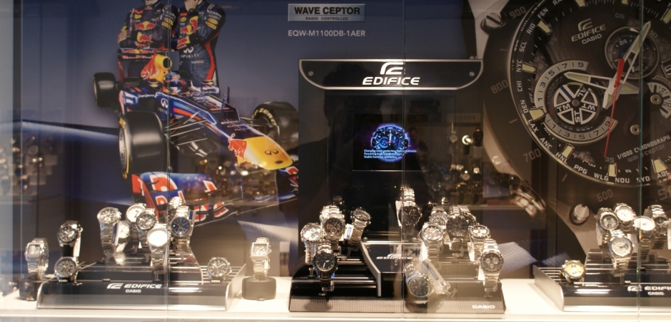 Casio Benelux | Watch! The Timestore